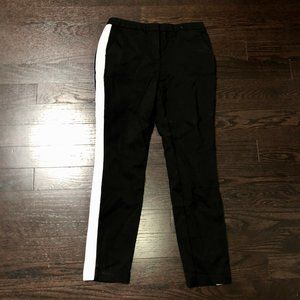 📣3 for $18 📣 Black Dress Pants with White Stripe